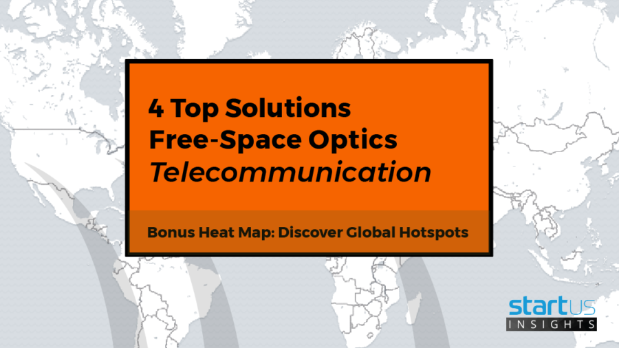 4 Top Free Space Optics Startups Impacting The Telecom Industry