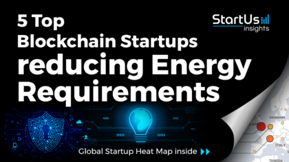 Discover 5 Top Blockchain Startups reducing Energy Requirements